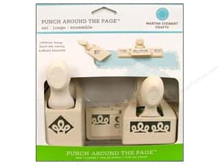 Martha Stewart Punch Around The Page Set Ribbon Loop