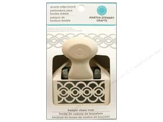 Weekly Specials Fiskars AdvantEdge Border Punches: Martha Stewart Double Edger Punch Bangle Chain Trim