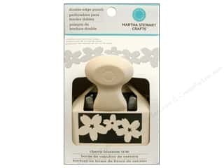 Martha Stewart Deep Double Edger Punch Cherry Blossom