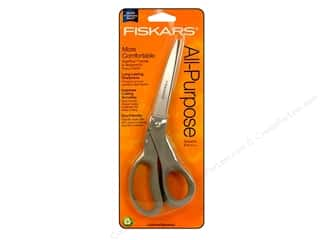 Fiskars 8 in. All-Purpose Bent Scissors