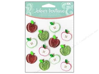 Jolee's Boutique Cabochons Cute Apple