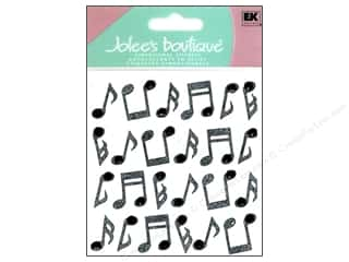 stickers: Jolee's Boutique Stickers Repeats Music Notes