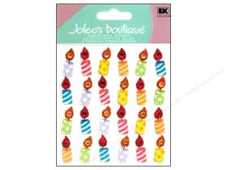 stickers: Jolee's Boutique Stickers Birthday Candle Repeats