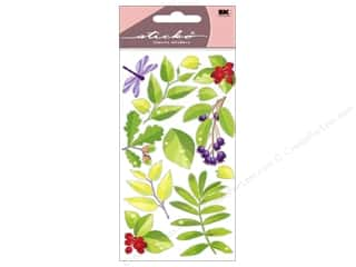 theme stickers: EK Sticko Stickers Spring Leaves