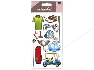 theme stickers: EK Sticko Stickers Golf