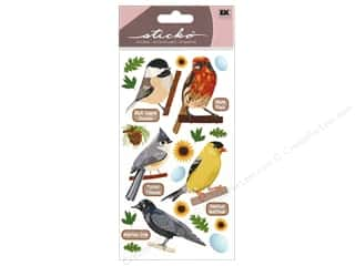 theme stickers: EK Sticko Stickers Top US Birds 1