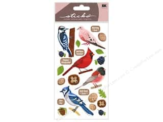 bird sticker: EK Sticko Stickers Top US Birds 2