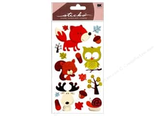 scrapbooking & paper crafts: EK Sticko Stickers Forest Friends