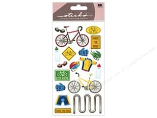 stickers: EK Sticko Stickers Biking