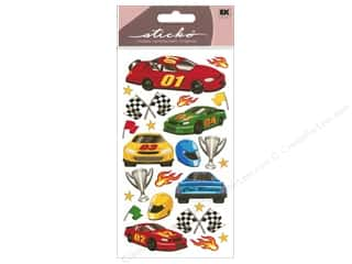 theme stickers: EK Sticko Stickers Race Cars