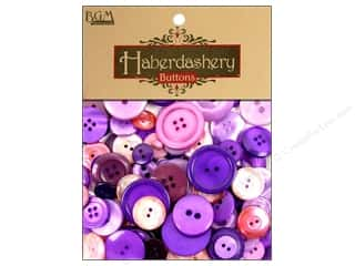 cover button: Buttons Galore Haberdashery Buttons Classic Purples