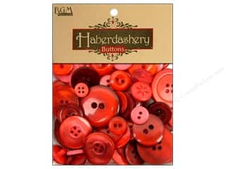 cover button: Buttons Galore Haberdashery Buttons Classic Reds