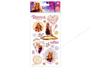 EK Disney Sticker Puffy Tangled Rapunzel