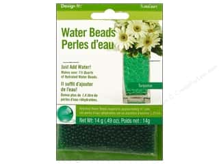 beading & jewelry making supplies: FloraCraft Water Beads Dehydrated Turquoise
