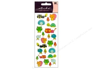 scrapbooking & paper crafts: EK Sticko Stickers Puffy Animal Friends
