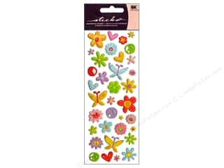 scrapbooking & paper crafts: EK Sticko Stickers Puffy Peace and Love