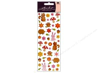 Sticko Puffy Stickers - Woodland Animals