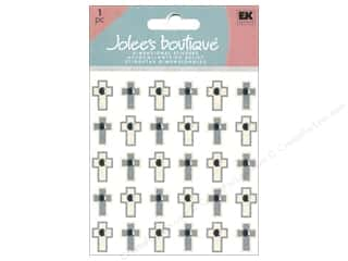 scrapbooking & paper crafts: Jolee's Boutique Stickers Repeats Mini Crosses