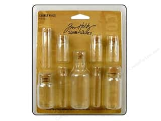 Tim Holtz Idea-ology Corked Vials 9 pc.