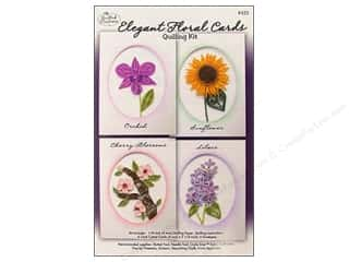 Aleenes Fun Craft Foam Glue: Quilled Creations Quilling Kit Floral Cards