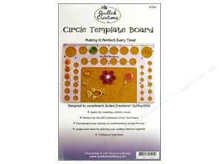 "Quilled Creations Tools Circle Template Board 5""x 8"""