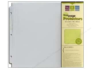 Brandtastic Sale We R Memory Keepers: We R Memory Keepers 12 x 12 in. Ring Page Protectors 10 pc.