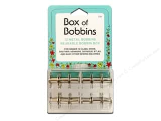 Weekly Specials Guidelines 4 Quilting Tools: Box of Bobbins by Collins Class 15 12 pc.