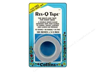 glues, adhesives & tapes: Res-Q Tape by Collins Double Sided 3/4 x 180 in.