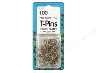 Quilting Collins: T-Pins by Collins 1 1/4 in. 100 pc.