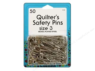 sewing safety pins: Quilter's Safety Pins by Collins 1 7/8 in. 50 pc.