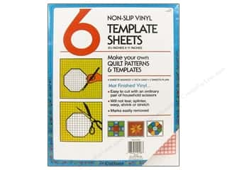 Quilting Collins: Template Plastic Sheets by Collins 8 1/2 x 11 in. With Grid 6 pc.