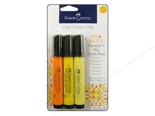 stamps: FaberCastell Stamper's Big Brush Pen Mix & Match Set Yellow