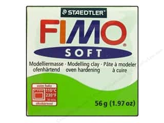 Fimo Soft Clay 2 oz. Apple Green