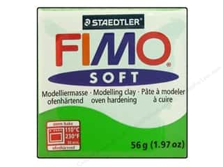 stamps: Fimo Soft Clay 2 oz. Tropical Green