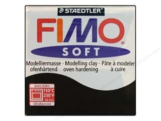 Fimo Soft Clay 2 oz. Black