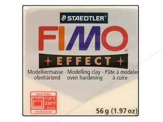 Fimo Soft Clay 2 oz. Transparent White