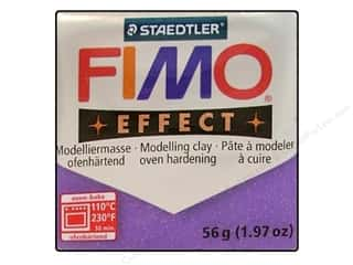 Fimo Soft Clay 2 oz. Glitter Lilac