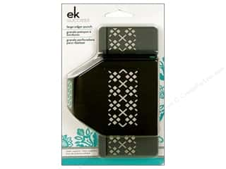 EK Paper Shapers Large Edger Punch Argyle
