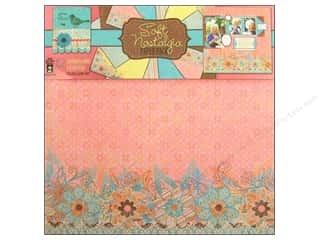 Clearance Off The Press Template: Hot Off The Press Paper Pack 12 x 12 in. Soft Nostalgia 12pc