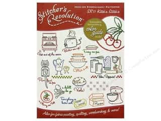 yarn & needlework: Stitcher's Revolution Iron On Transfer Kitch'n Stitch'n