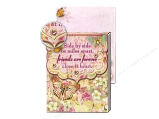 heart punch: Punch Studio Pocket Note Pad Wisdom Friends Forever