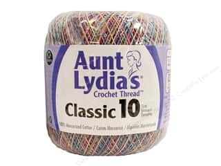 yarn & needlework: Aunt Lydia's Classic Cotton Crochet Thread Size 10 300 yd. Pastels Ombre