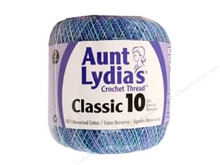 yarn & needlework: Aunt Lydia's Classic Cotton Crochet Thread Size 10 300 yd. Ocean