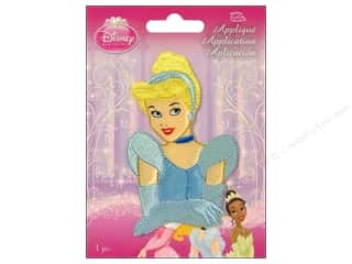 Simplicity Disney Iron On Appliques Small Cinderella