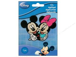 Simplicity Disney Iron On Appliques Small Mickey & Minnie Couple