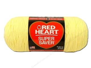 Red Heart Super Saver Jumbo Yarn 744 yd. #0322 Pale Yellow