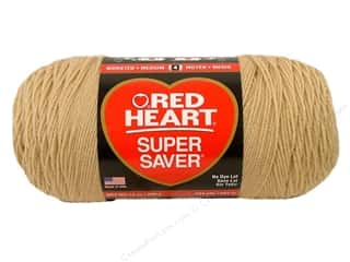 Red Heart Super Saver Jumbo Yarn #334 Buff 744 yd.