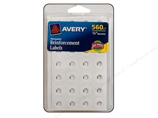 scrapbooking & paper crafts: Avery Reinforcement Labels 560 pc. White