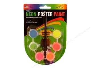 Palmer Washable Poster Paint 1/12 oz. Set Neon Assorted Color