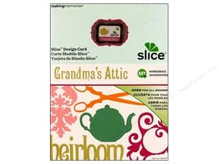 die cutting machines: Slice Design Card Grandma's Attic